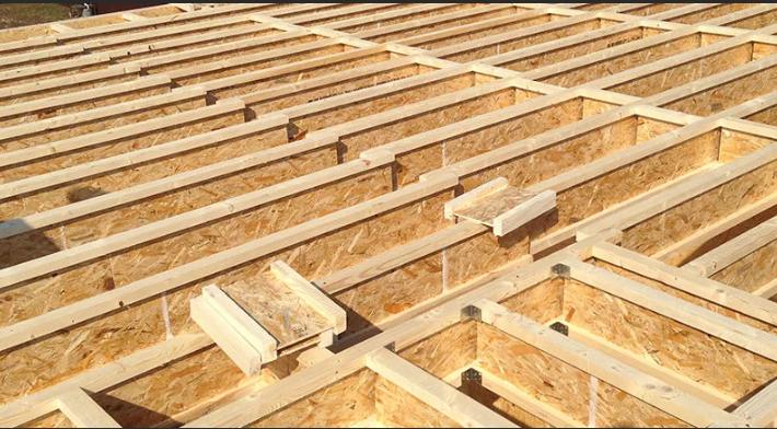 деревянный двутавр
