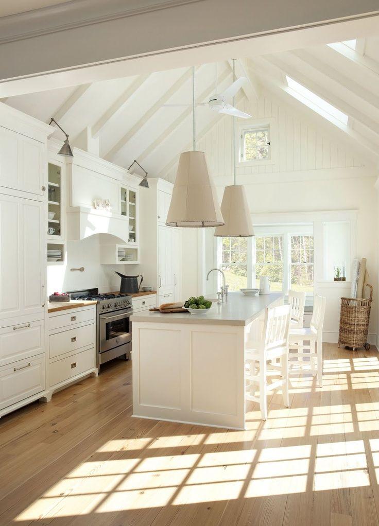 Кухня в частном доме - современные варианты интерьера и лучшие идеи дизайна кухни (165 фото)