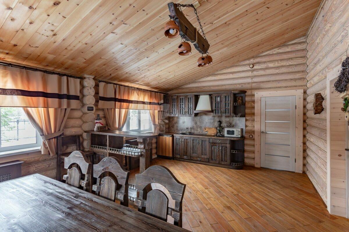 Дом из бруса - отделка внутри (85 фото): внутренняя отделка конструкций из клееного материала, постройки из брусового профилированного продукта