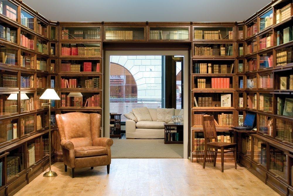 Дом для книг: обустройство домашней библиотеки в современном жилище (42 фото)