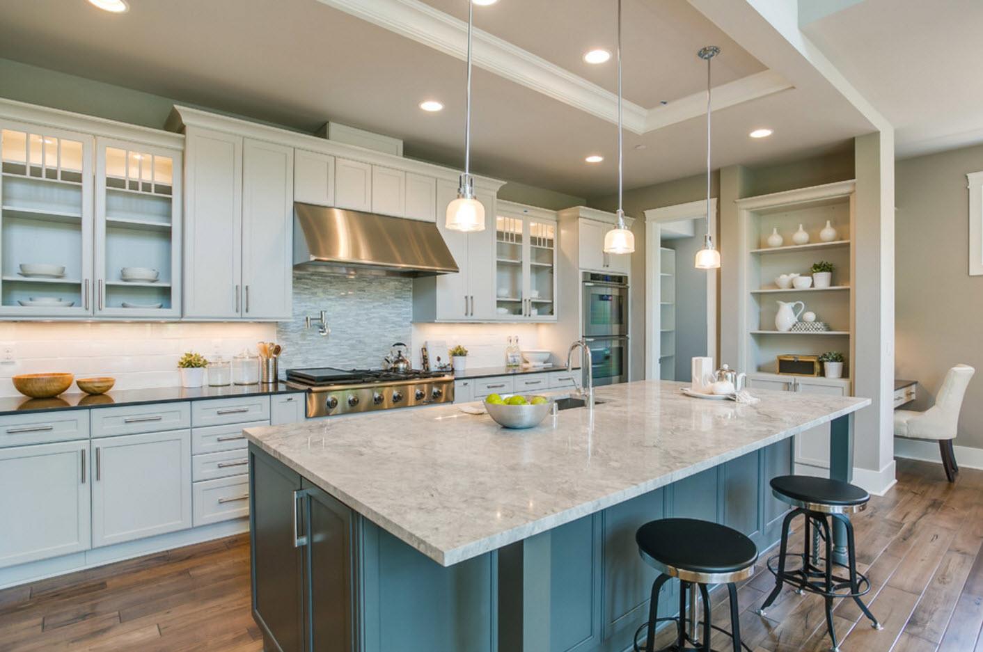 Дизайн кухни-столовой: 85 фото стильных идей интерьера и советы по выбору аксессуаров