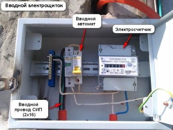 Как своровать электричество если счетчик на улице