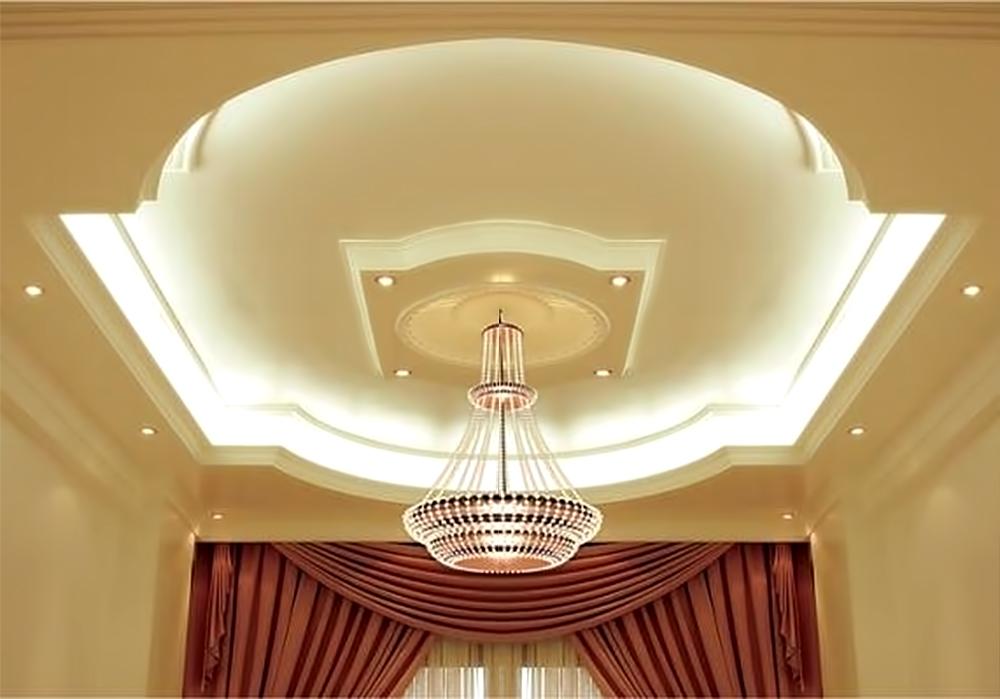 фигура потолок из гипсокартона фото