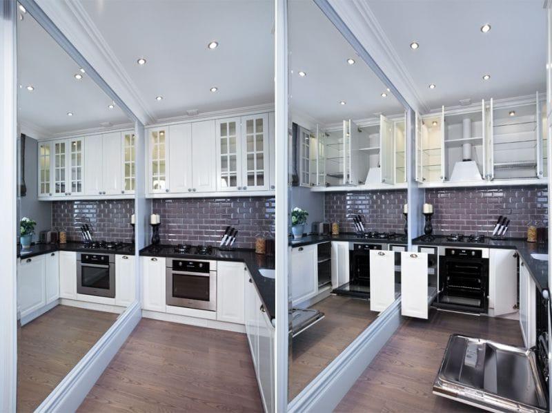 Маленькая угловая кухня (80 фото): идеи дизайна