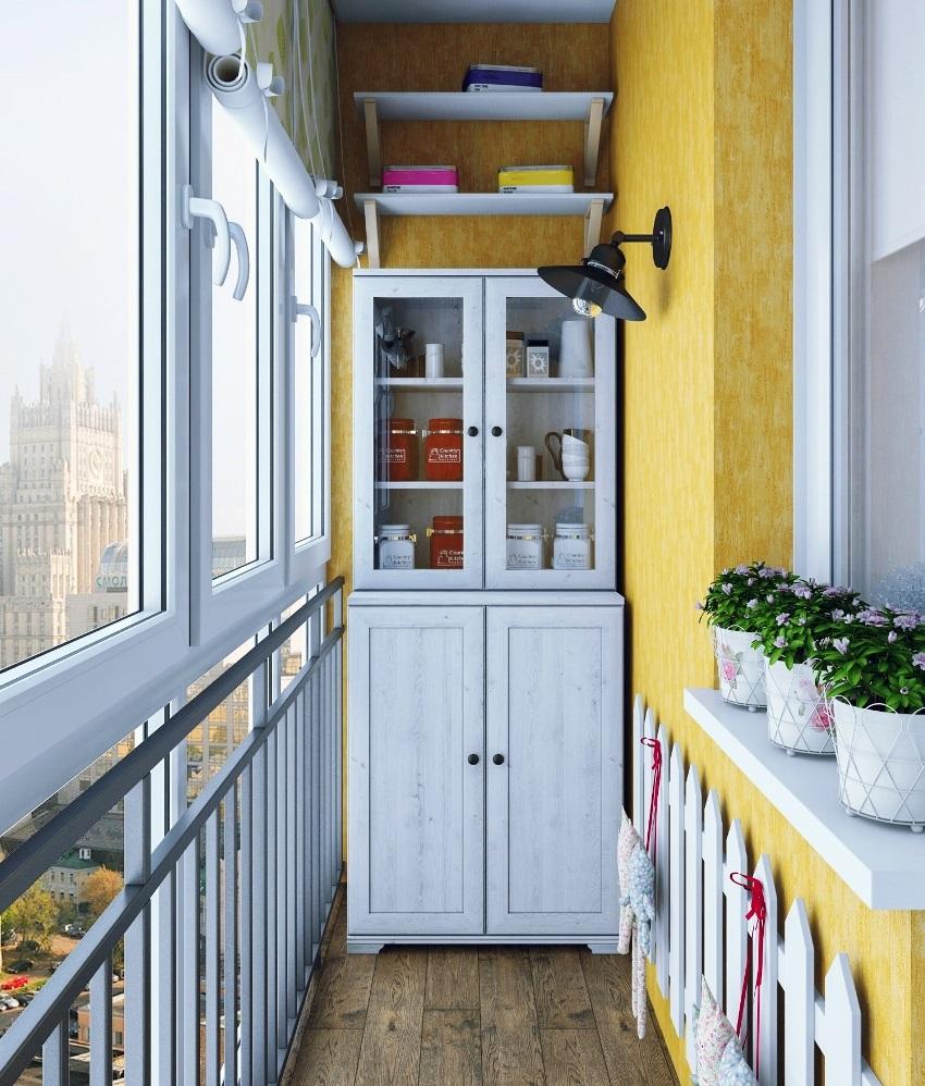 Шкаф на балкон — как сделать своими руками? 100 фото идей реализации разных стилей