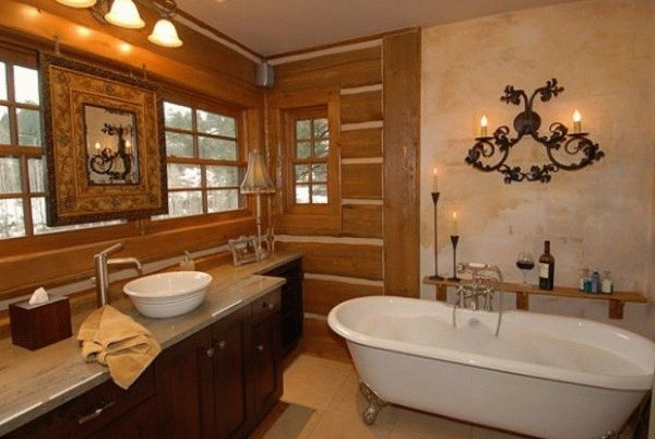 Ванная в каркасном доме: устройство и отделка