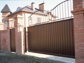 ворота электрические откатные