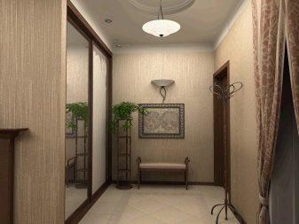 Выбор обоев для прихожей и коридора