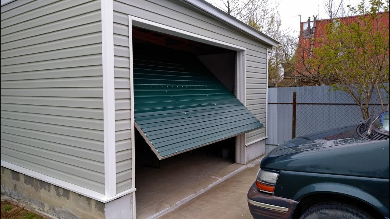 гаражные ворота подъемные
