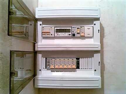шкаф для счетчика электроэнергии