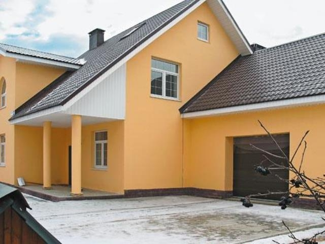 Фасады и крыши: цветовое решение