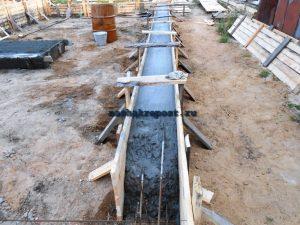 Как заливать бетон: можно ли частями простая инструкция, фото