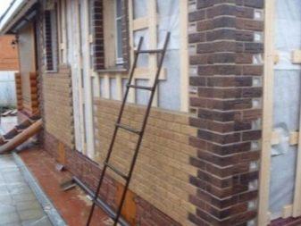 сайдинг под кирпич для наружной отделки дома