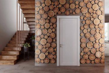 50 идей декора из дерева своими руками: из спилов, бревен, стволов