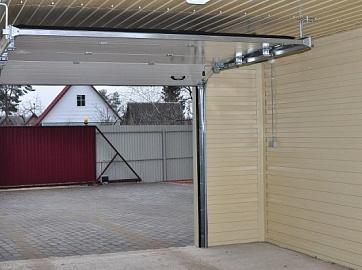 гаражные ворота подъемные в леруа мерлен цена