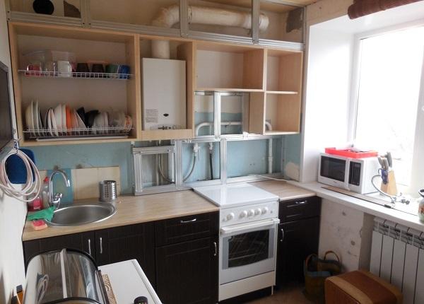 Газовая труба на кухне: существующие требованиями безопасности