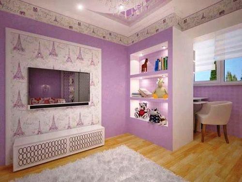 Обои фиолетового цвета: 70 современных фото и идей