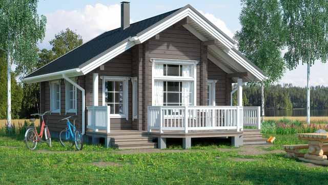 Мини дома для сезонного и круглогодичного проживания