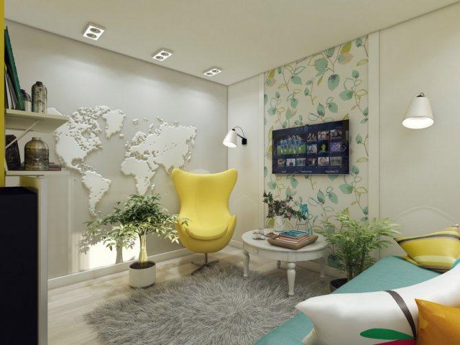 план первого этажа жилого дома
