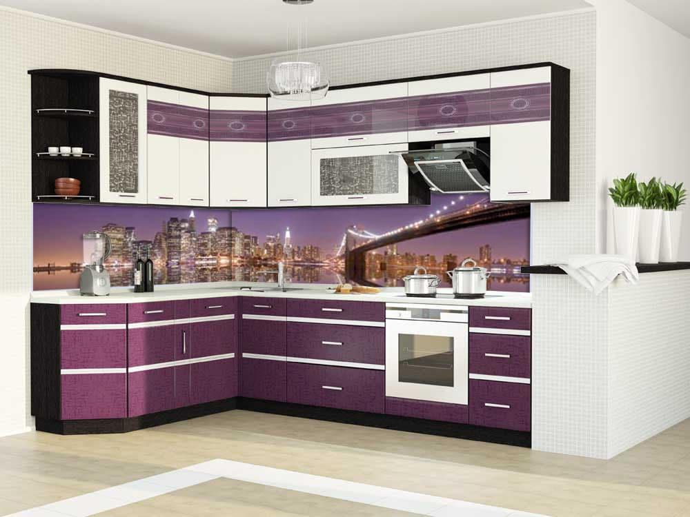 Кухонные фасады: виды конструкций и варианты декора