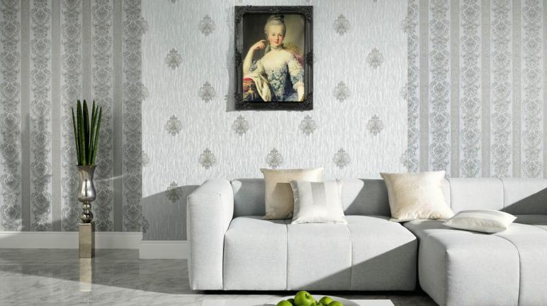 Поклейка обоев двух видов в зале: фото, практические советы, возможности декорирования