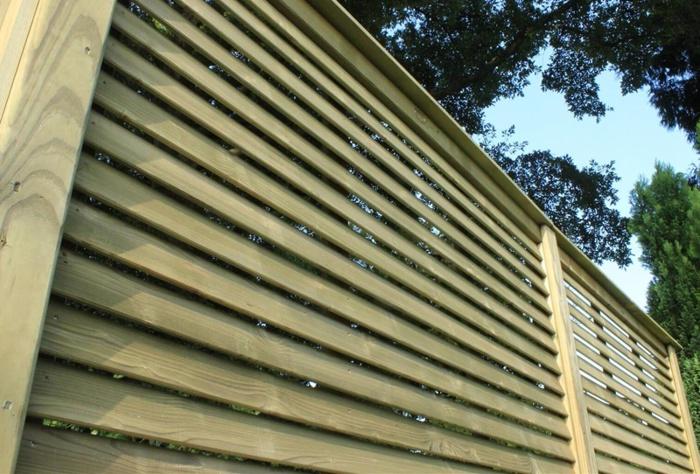 Забор жалюзи металлические и деревянные своими руками: фото и цена