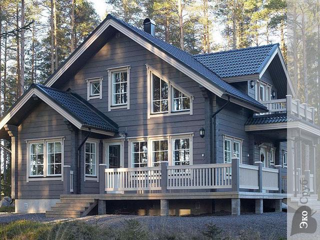 В какой цвет покрасить деревянный дом снаружи. в какой цвет покрасить деревянный дом