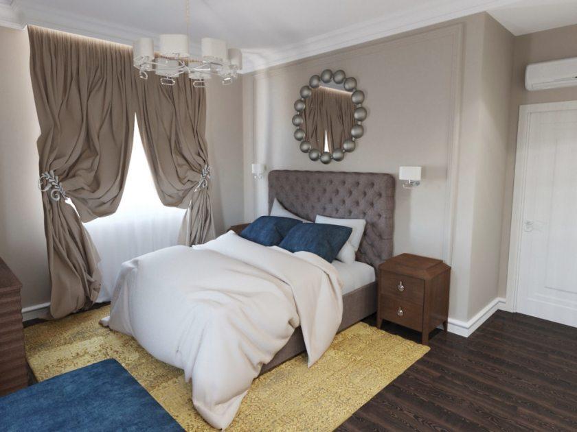 спальни дизайн фото реальные в квартире