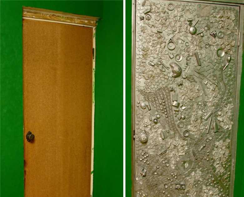 как обновить старые двери