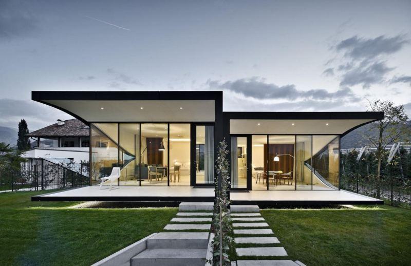 Небольшие двухэтажные дома / красивые проекты и планировки • 333+ фото • [артфасад]