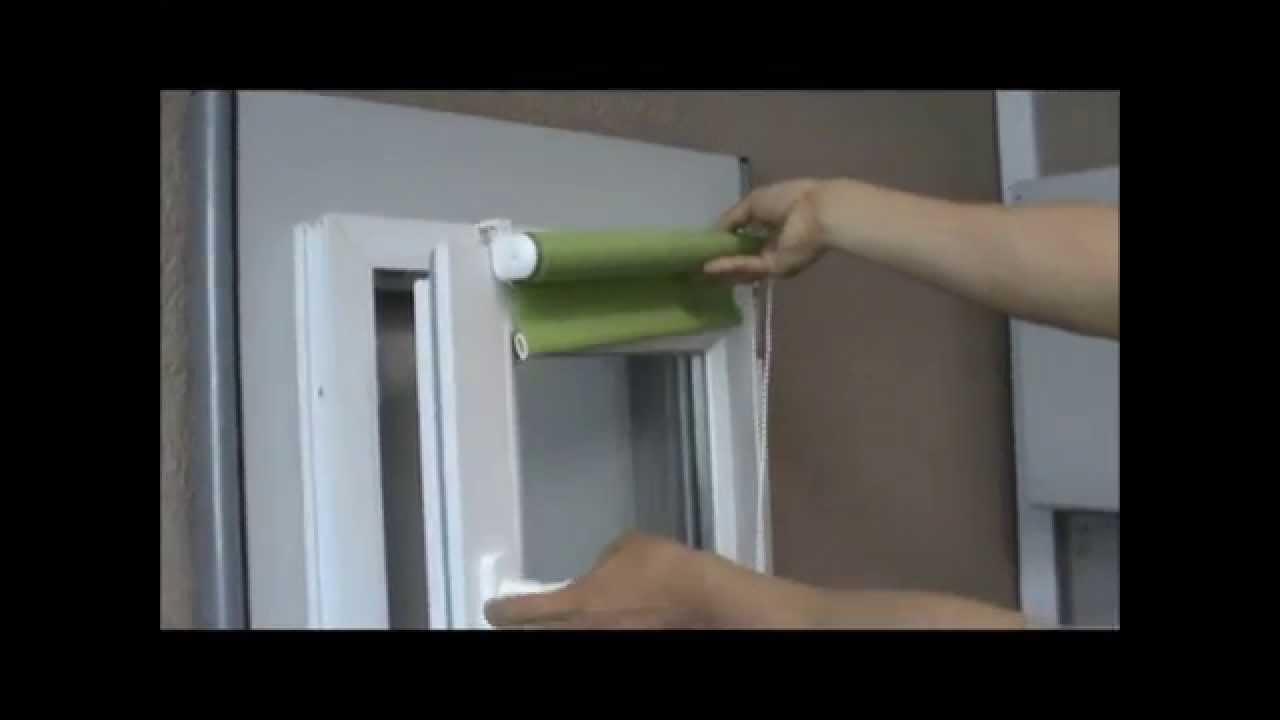 Установка жалюзи на пластиковые окна без сверления: крепление на раму, карниз и рулонные шторы, фото