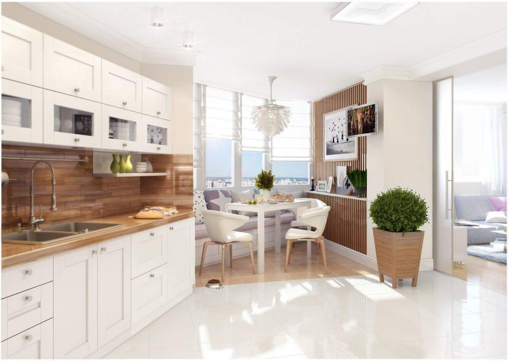 Кухня в скандинавском стиле - 60 фото интерьеров
