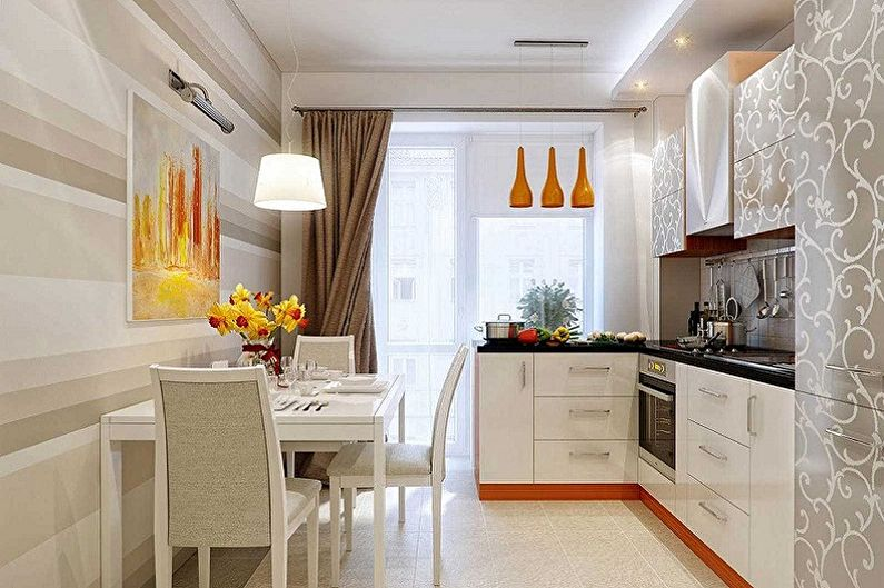 Кухня 15 м: варианты планировки, зонирование, цвета, фото в интерьере