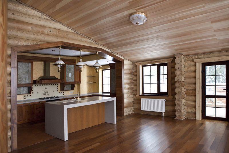 чем обшить деревянный дом внутри