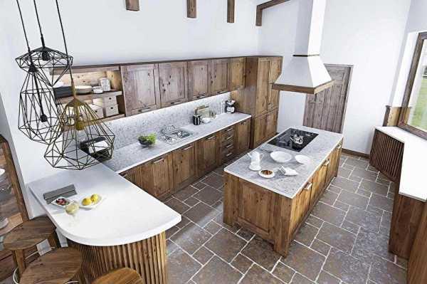 Кухня в стиле лофт: индустриальная романтика в домашнем интерьере, 75 фото