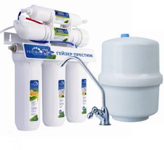 Замена и порядок установки картриджей и фильтров очистки воды гейзер