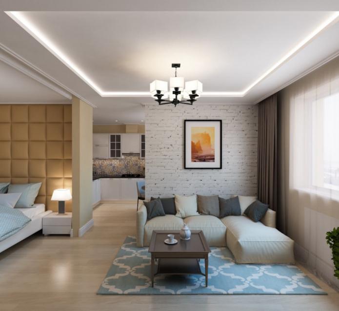 Современный дизайн двухкомнатной квартиры. идеи и рекомендации.