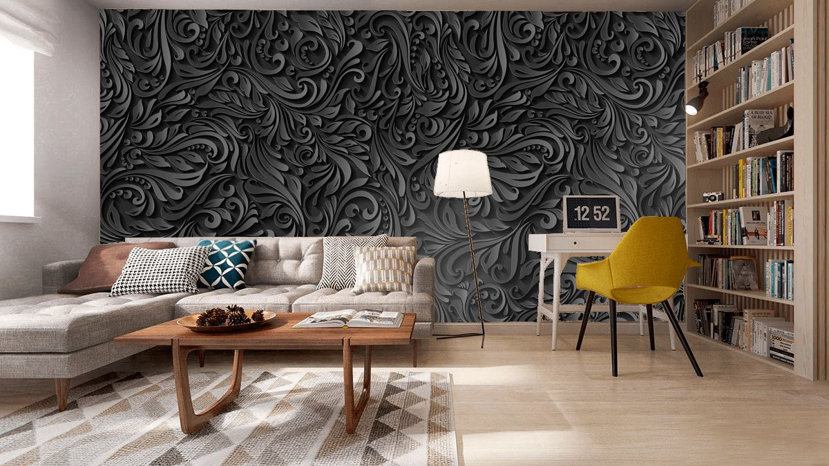 Черный цвет в интерьере: идеи сочетания цветов +75 фото