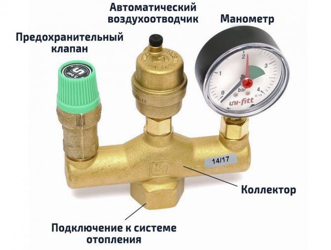 Как выбрать и установить воздухоотводчик в системе отопления