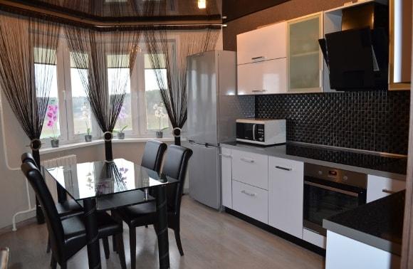 Шторы на кухню - интерьерные решения и лучшие современные новинки дизайна (155 фото)