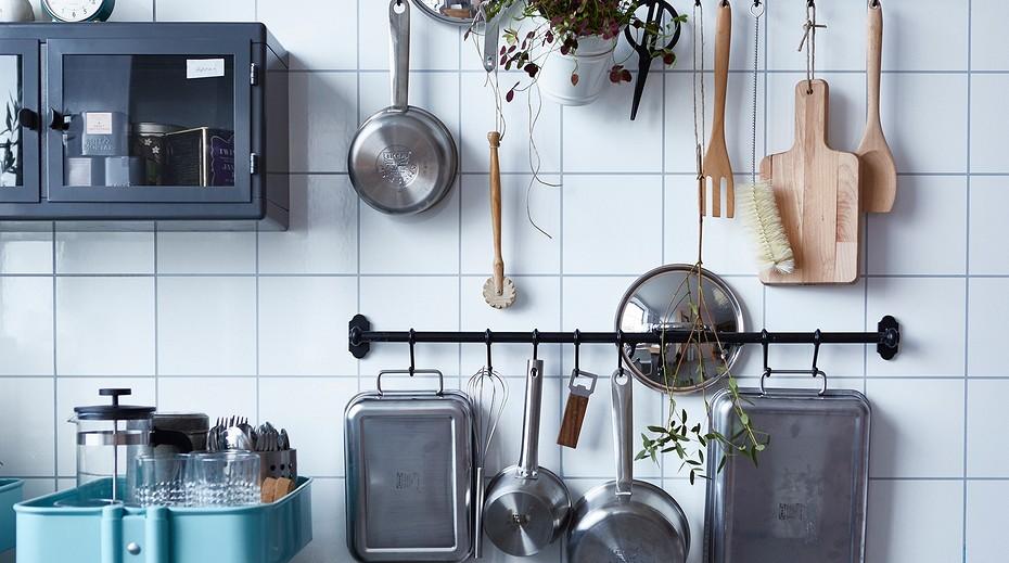 Установка рейлингов на кухне своими руками: порядок действий