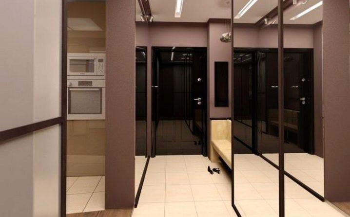 Мебель в длинный узкий коридор — фото прихожей и особенности интерьера