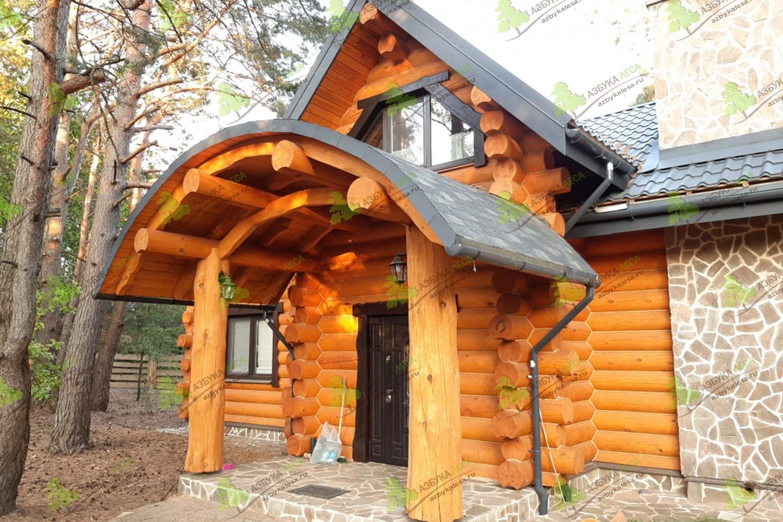 Деревянный дом: 60 фото и современные варианты из бруса и сруба
