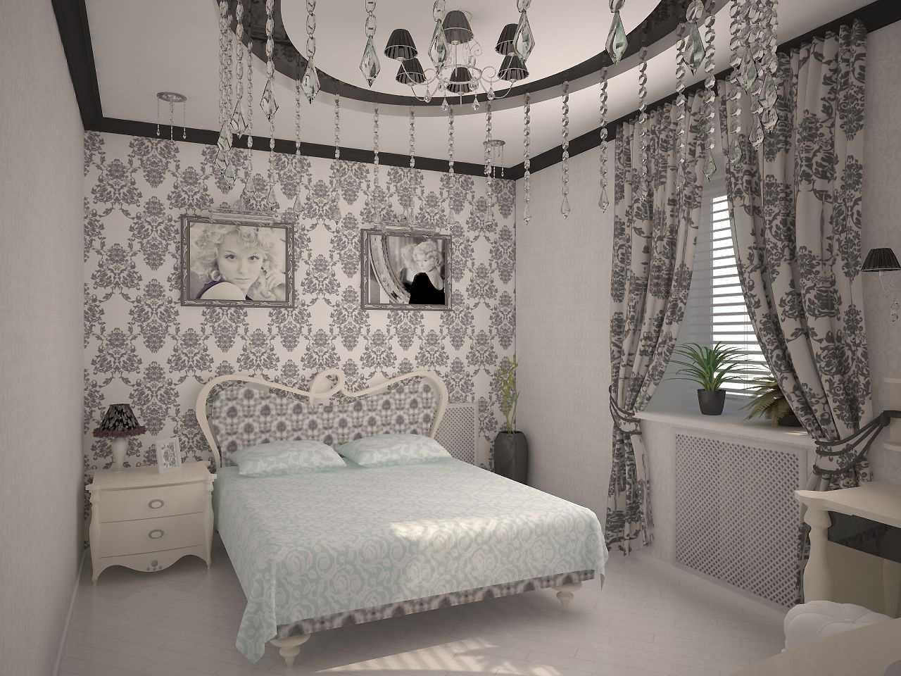 Сочетание штор и обоев в спальне (46 фото): какие шторы подойдут к розовым и персиковым, золотистым и желтым, темным коричневым и другим обоям?