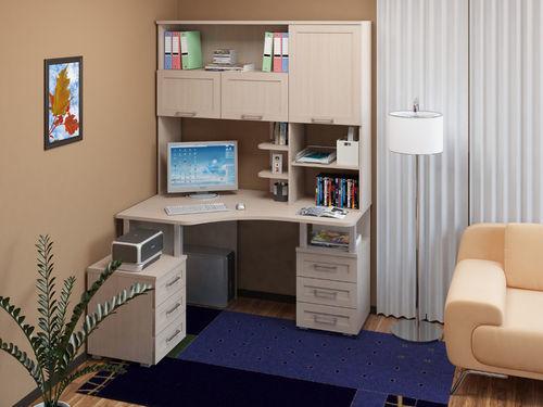 Угловой компьютерный стол (104 фото): рабочий столик с тумбой для компьютера, размеры для дома, выбираем полукруглый цвета венге для двоих