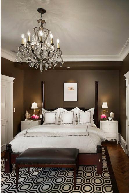 Люстра в спальню: 90 фото самых популярных и стильных элементов освещения