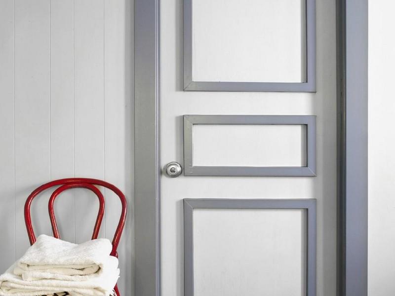 как обновить деревянную дверь