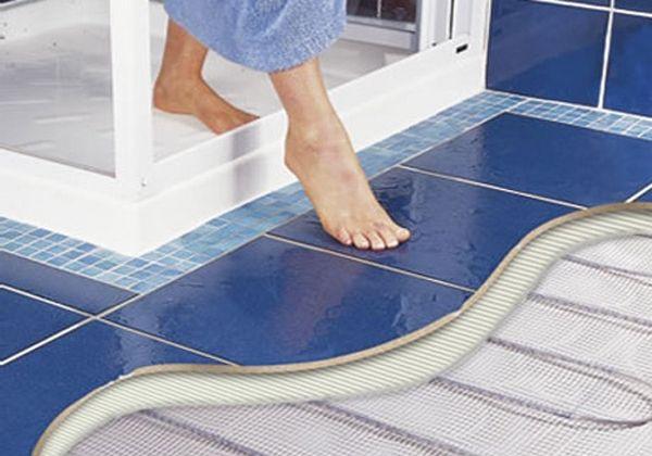 Как выбрать и смонтировать теплый пол под плитку