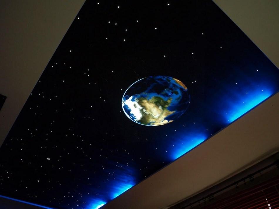 потолок звездное небо с мерцанием
