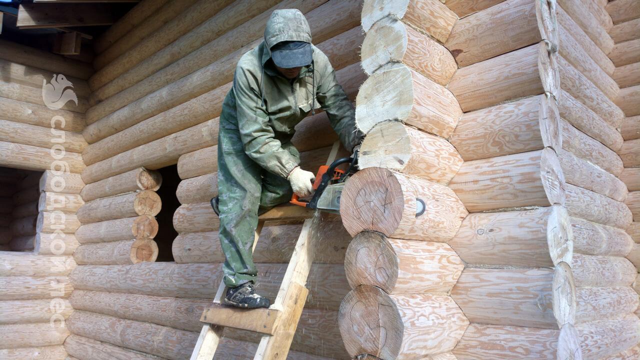 Внутренняя отделка деревянного дома - примеры отделки.